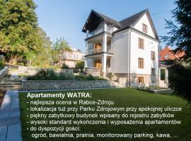 Apartamenty Watra, hotel near Polczakówka Ski Lift, Rabka-Zdrój
