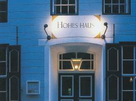Hohes Haus, Hotel in Greetsiel