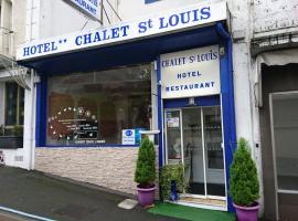 Chalet Saint Louis, hôtel à Lourdes