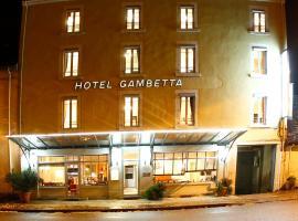 Hôtel Gambetta, hotel in Lons-le-Saunier