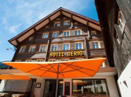 Hotel Gerig, hotel near Gotthard Road Tunnel - North Portal, Wassen