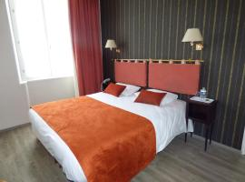 Logis Au Grand Hotel、マイエンヌのホテル