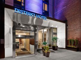 Distrikt Hotel New York City, Tapestry Collection by Hilton, hotel near Times Square, New York