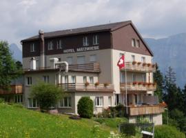 Hotel Garni Maetzwiese, hotel in Flumserberg