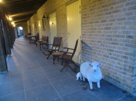 B&B 't Hannonshof, accessible hotel in Nieuwpoort