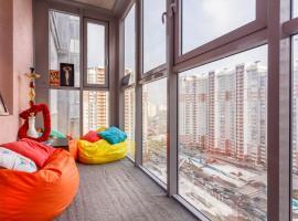 Apartments on Kosmonavtov 5, hotel near Le Meridien Moscow Country Club, Krasnogorsk