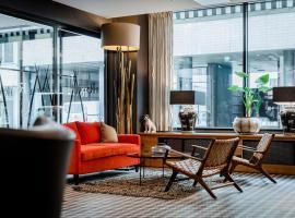 Hotel F6, hotelli Helsingissä lähellä maamerkkiä Leppävaaran asema