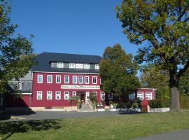 Zum Roten Hirsch im Grünen Wald, Hotel in Saalfelder Höhe