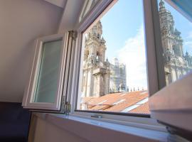 Hotel Praza Quintana, отель в городе Сантьяго-де-Компостела