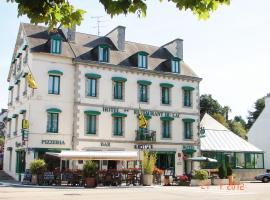 Hôtel du Lac, gîte à Huelgoat