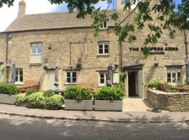The Keepers Arms, boutique hotel in Quenington