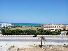 Appartement Vue Sur Mer Turquoise, apartment in Mahdia