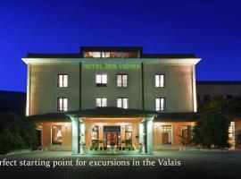Hôtel des Vignes, hotel in Sion