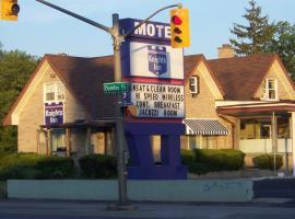 Knights Inn London Ontario, hotel near London International Airport - YXU,
