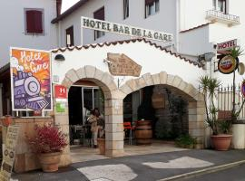 Hotel de La Gare, hôtel à Hendaye près de: Aéroport de Saint-Sébastien - EAS