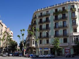 Hostalin Barcelona Diputación, hotel v destinaci Barcelona
