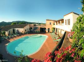 Hotel Villa Gemella, отель в городе Байя-Сардиния