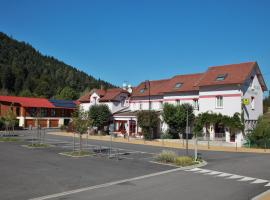 Logis Hotel des Lacs, hotel in Celles-sur-Plaine