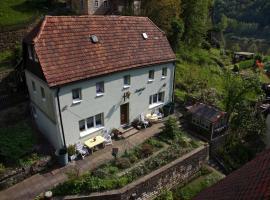 Haus Bergfriede – hotel w mieście Bad Schandau