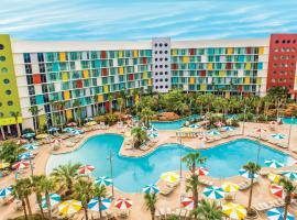 Universal's Cabana Bay Beach Resort, boutique hotel in Orlando