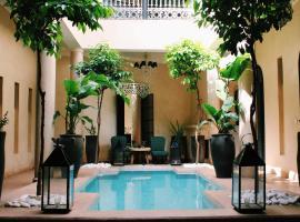 Riad O, riad à Marrakech