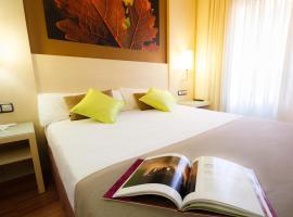 Hotel Condes de Haro, hotel Logroñóban