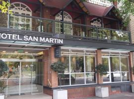 Hotel San Martín, отель в городе Мендоса