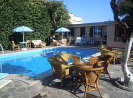 Villa Franca, hotel with pools in Pompei