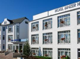 Hotel Binzer Hof, hotel near KdF seaside resort in Prora, Binz