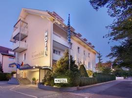 Hotel Kriemhild am Hirschgarten, hotel near Nymphenburg Palace, Munich