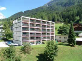Apartments Haus Quelle, apartment in Leukerbad