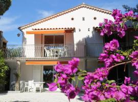 Location Corsica, hotel near La Mole Airport - LTT,