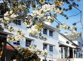 Lilland Brewery Hotel, hotel in Tau