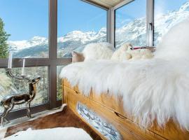 Stirling Luxury Chalet, hotel in Saas-Fee