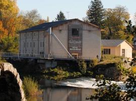Au Moulin des Ecorces, hotel in Dole