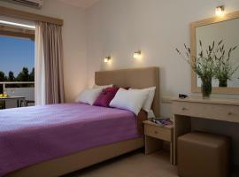 Savinos Rooms, hotel near Egremnoi Beach, Vasiliki