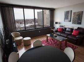 The Hamilton by OBASA Six Three Suites, apartamento em Regina