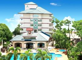 Diana Garden Resort, three-star hotel in Pattaya Central