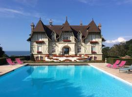 Manoir de Benerville, hotel with pools in Deauville