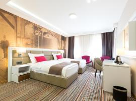 Hotel TESLA - Smart Stay Garni, отель в Белграде