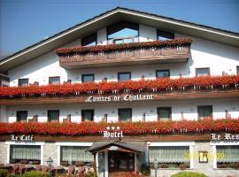 Hotel Comtes De Challant Albergo Etico Valle d'Aosta, hotel in Fenis