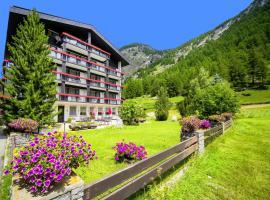 Hotel Alpenhof Saas-Almagell, hotel in Saas-Almagell