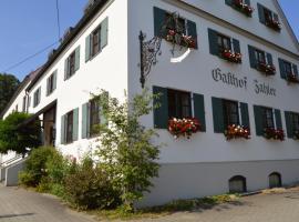 Gasthof Zahler, Hotel in der Nähe von: Legoland Deutschland, Röfingen