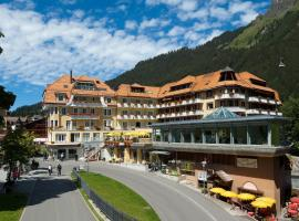 Hotel & Spa Silberhorn Wengen, отель в Венгене