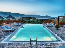 Glan Y Mor, hotel with pools in Elounda