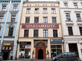 Kamienica Pod Aniolami – apartament z obsługą w Toruniu