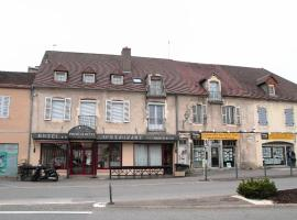 Hôtel Pourcheresse, hotel in Dole