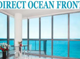Luxury DIRECT Ocean Front Residence 2107, apartment in Miami Beach