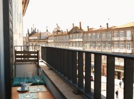 Carlos Alberto Balcony APT, homestay di Porto
