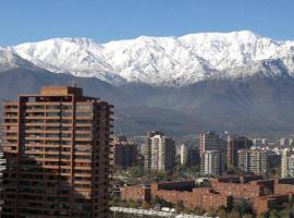 Puerta Arauco Apartamentos, aparthotel en Santiago